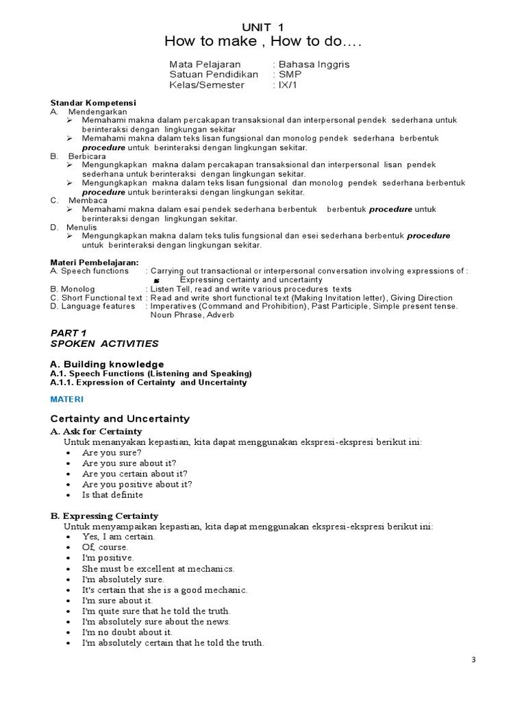 Modul bahasa inggris kelas 9 semester 1 lengkap oleh isbandiyo spd modul bahasa inggris kelas 9 semester 1 lengkap oleh isbandiyo spd mkom stir frying adverb stopboris Gallery
