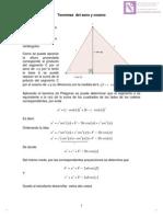 Teoremas Del Seno y Del Coseno1