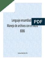 Manejo de Archivo
