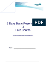 3 Days Basic Reservations & Fare Course