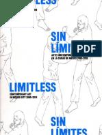 Sin Límites. Arte Contemporáneo CD. DeMéxico 2000-2010