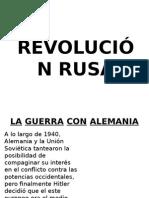 Revolución Rusa y Mexicana