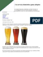 Cerveza Artesanal PL