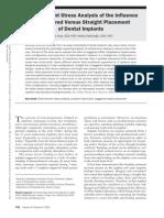 Biomecánica de Elementos Finitos Implantes