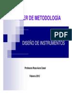 Metodologia I-Instrumentos 2012