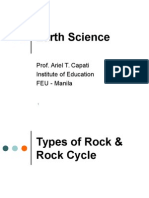 Chapter 3 - Types of Rocks & Rock Cycle