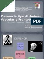 Alzheimer Vascular Frontotemporal)