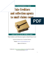 Take Creditors and Collection