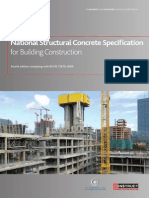 National Structural Concrete Specification