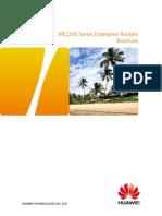 HUAWEI AR2200 Series Enterprise Routers Datasheet