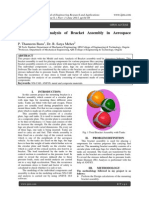 Modeling and Analysis of Bracket Assembly in Aerospace Industry