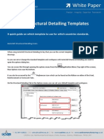 AutoCAD Structural Detailing Templates