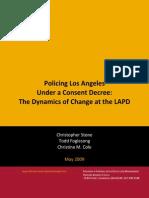 Harvard LAPD Study During Consent Decree