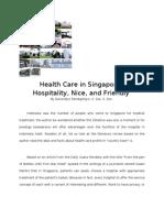Health Care in Singapore