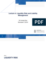 FINS5530 Lecture 4 Liquidity Risk and Liability Management