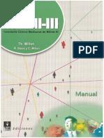 Manual del MCMI-III