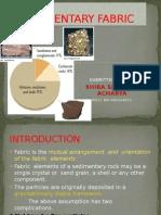 Sedimentary Fabric