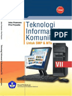 Kelas 07 SMP Teknologi Informasi Dan Komunikasi Joko Pramono