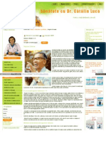Dr Catalin Luca Ro Site Detoxifiere Si Purificare Regimul Os