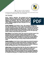 Orientation Letter 2015-16