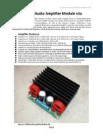TA3020 Audio Amplifier Module v3b manual
