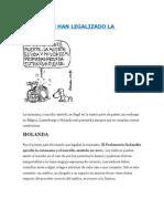 Paises Que Han Legalizado La Eutanasia