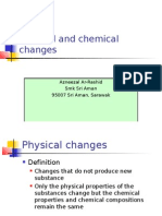 5.1 Physical and Chemical Changes