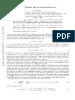 Grover Algorithm With Zero Theoretical Failure Rate