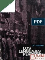 P. E. Cleator-Los Lenguajes Perdidos