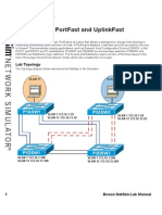 PortFast and UplinkFast