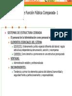 Función Publica en España Resumen