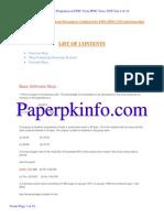 Basic Arithmetic PDF