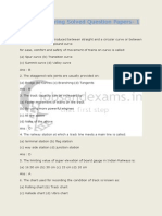 RRB Engineering Solved Question Paper 1
