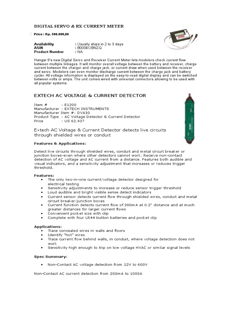 Current Meter | Electric Current | Antenna (Radio)