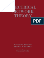 Electrical Network Theory