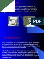 autorefracto y topografia corneal.ppt