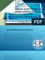 Documento Electronico, Seguridad Juridica en La Contratacion