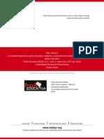 TELLO_Las Epistemologías de La Política Educativa-Posicionamiento Epistemológico Del Investigador
