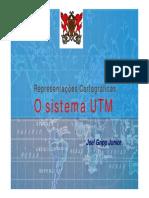 Sistema Geodesico Sistema UTM v2 Prof Joel