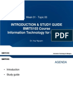 Week 01 - Topic 00 - Introduction _ Study Guide of BMIT5103 Course