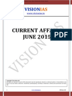 VisionIAS Current Affairs Jun 2015 by Raz Kr