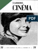 Cahiers du Cinéma n. 077