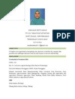Resume Asmahani