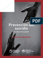 Oms Prevencion Suicidio 2014 Resumen Spanish