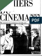 Cahiers du Cinéma n.293