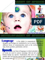 Development of Speech