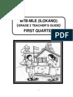 Teacher's Guide Mtb Ilokano