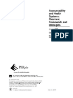 Brinkerhoff, Derick (2003) Accountability and Health Systems _Overview, Freamework, and Strategies..pdf