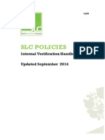 LQS6 Internal Verification Handbook