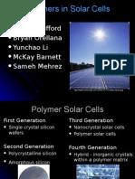 2 Blank Polymer Solar Cell